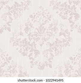 Damask pattern texture Vector. Imperial Royal fabric background. Luxury background decors