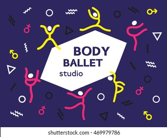 Dance Studio Logo Stock Photos - Illustrations/Clip-Art