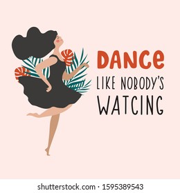 Dance Like No One Is Watching Images Stock Photos Vectors Shutterstock