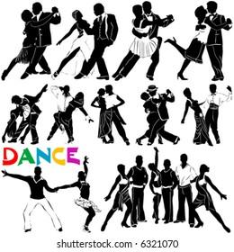 dance vector (clothes detail)
