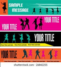 Dance Web Banner Templates