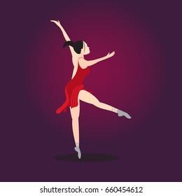 Dancing balerine