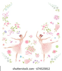 Ballerina Birthday Invitation Images Stock Photos Vectors