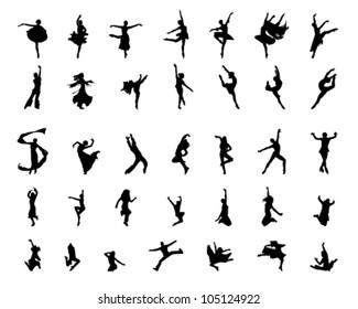 dancing girls and boys