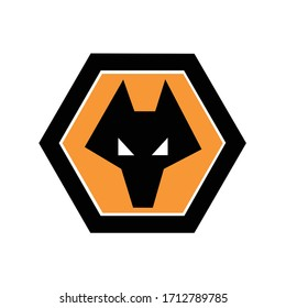 danger fox animal logo icon vector template