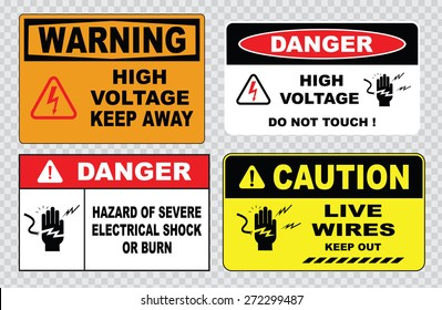 danger hazard of severe electrical shock or burn (this enclosure contains high voltage electrical equipment and must not be entered except by permission, high voltage security fence do not touch )