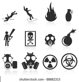 danger icons,easy to edit and re size
