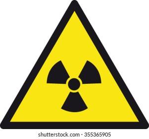 Danger Radioactive