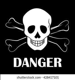 Danger Sign. Vector