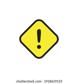 Danger sign, warning sign, attention sign. vector illustration