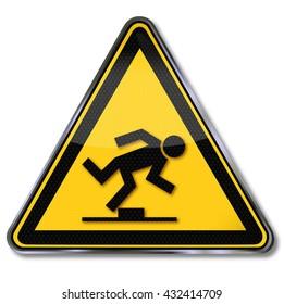 Danger tripping hazard
