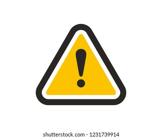 Danger, warning icon sign symbol