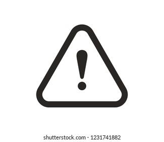 Danger, warning icon sign symbol