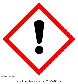Dangerous icon of hazardous warning sign. Official warning sign of Global healthy sign of harmful