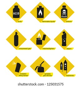 dangerous toxic substances prohibited for carriage