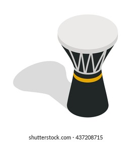 Darbuka, percussive musical instrument icon