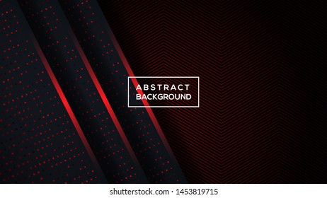 Black Red Abstract Stock Vectors Images Vector Art