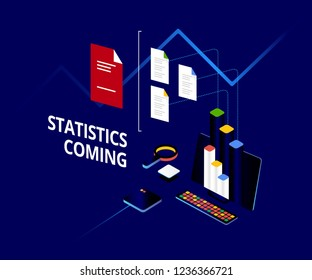 Dark Analytics dashboard. Online statistics and data Analytics. Big Data Analytics Ecosystem.
