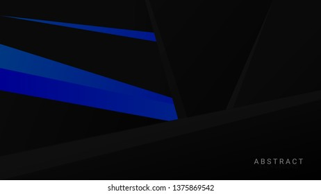 Dark Black And BLue COlor Abstrct Background EPS 10