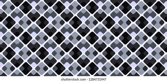 Dark black, blue gray vector texture.  Abstract colorful Box background. Completely New design for ad, poster, banner of your website
