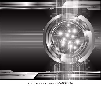 dark black color Light Abstract Technology background for computer graphic website internet and business. circuit. illustration. digital. infographics. binary code background. www.vector.Spark eye