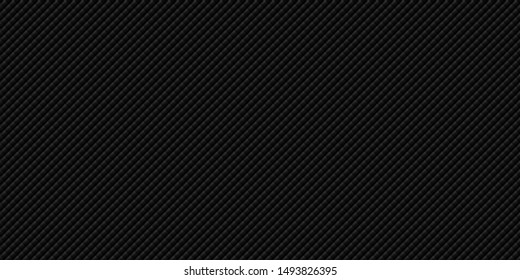 Dark black Geometric grid background Modern dark abstract vector texture