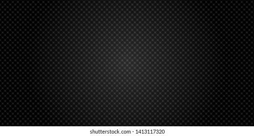 Dark black Geometric grid Modern   background vector illustration.