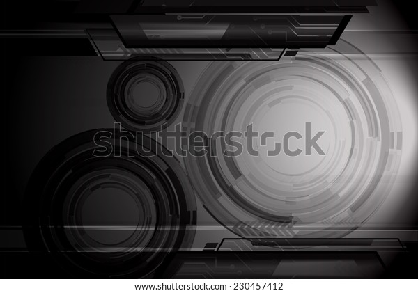 Dark black Light Abstract Technology background for computer graphic website internet. circuit.