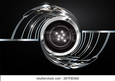 dark black silver Light Abstract Technology background for computer graphic website internet and business. circuit. vector illustration. infographics. wave.Spark.Metals alloys steel aluminum
