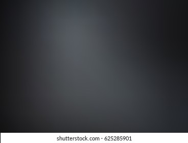 Dark Black vector blurred bright template. Colorful illustration in abstract style with gradient. The elegant pattern can be used as part of a brand book.