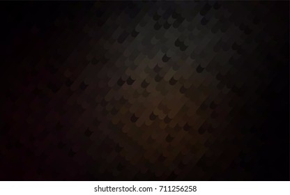 Dark Black vector crooked abstract background. Colorful abstract illustration with gradient crooked lines. The template can be used as a background for cell phones.