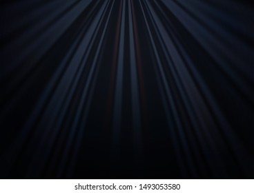 Dark Black vector layout with flat lines. Lines on blurred abstract background with gradient. Pattern for ads, posters, banners.