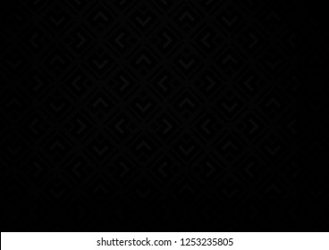 Dark Black vector texture with lines, rhombuses. Shining colorful illustration with lines, rectangles. Best design for your ad, poster, banner.