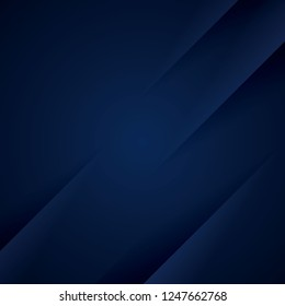 Dark blue background with diagonal paper cuts.