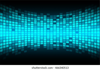 Dark blue color Light Abstract pixels Technology background for computer graphic website internet. circuit board. text box. Mosaic, table