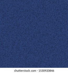 Dark blue denim marl seamless pattern. Jeans texture fabric textile background. Vector cotton melange canvas all over print. For Fashion garment effect, Traditional vintage raw effect. Vector Eps 10