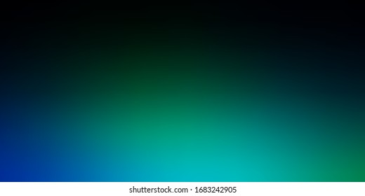 Dark Blue, Green vector abstract layout. Colorful illustration in abstract style with gradient. Design for landing pages.