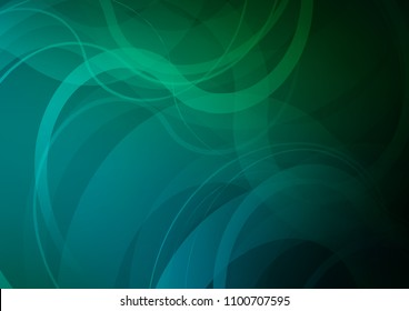 Dark Blue, Green vector background with abstract lines. An elegant bright illustration with gradient. Marble design for your web site.