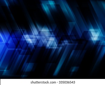 Dark blue hi-tech background  with overlapping strips