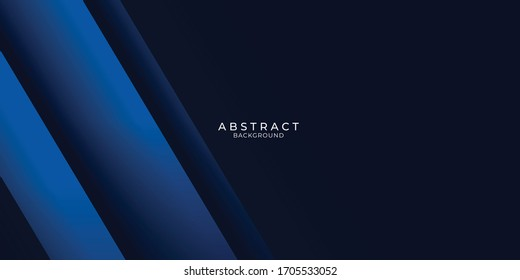 Dark blue modern business abstract background. Vector illustration design for presentation, banner, cover, web, flyer, card, poster, wallpaper, texture, slide, magazine, and powerpoint