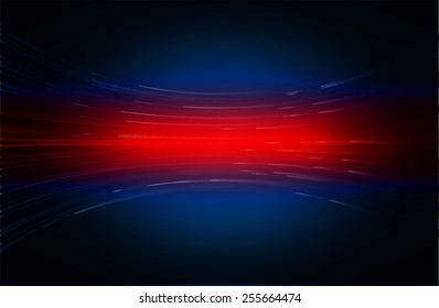 Dark blue red color Light Abstract Technology background for computer graphic website internet and business.