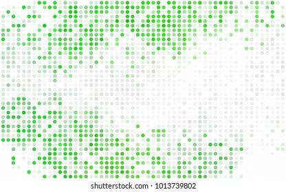 Dark Blue, Red vector abstract pattern with circles. Geometry template for your business design. Background with colored spheres.