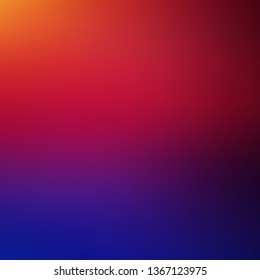 Dark Blue, Red vector abstract blurred background. New colorful illustration in blur style with gradient. Best design for your business.