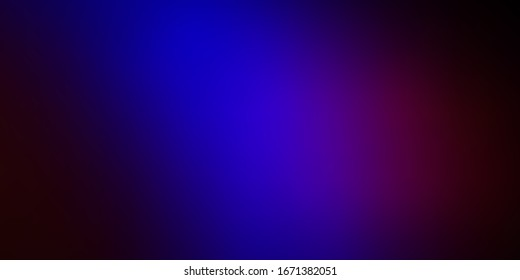 Dark Blue, Red vector abstract layout. Abstract illustration with gradient blur design. Background for cell phones.