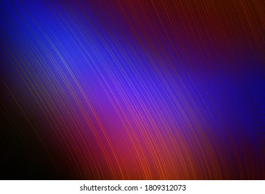 Dark Blue, Red vector abstract blurred background. Colorful abstract illustration with gradient. New way of your design.