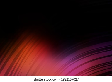 Dark Blue, Red vector abstract bright pattern. Colorful abstract illustration with gradient. New way of your design.