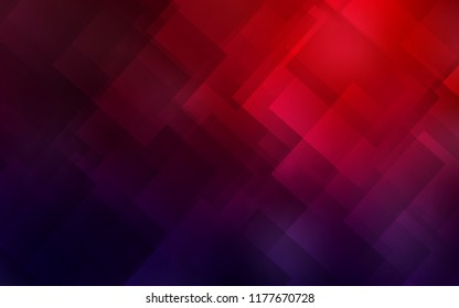 Dark Blue, Red vector layout with flat lines. Shining colored illustration with sharp stripes. Pattern for ads, posters, banners.