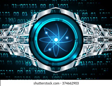 Dark blue silver Light Abstract Technology background for computer graphic website internet and business. circuit. vector illustration. infographics. motion move blur.neon. pixel. eye scan virus