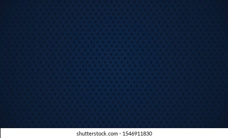 dark blue  textured abstract wave background with  dots on background decoration. Modern backdrop, can use for wallpaper, web and other users