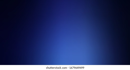 Dark BLUE vector abstract backdrop. New colorful illustration in blur style with gradient. Base for your app design.
